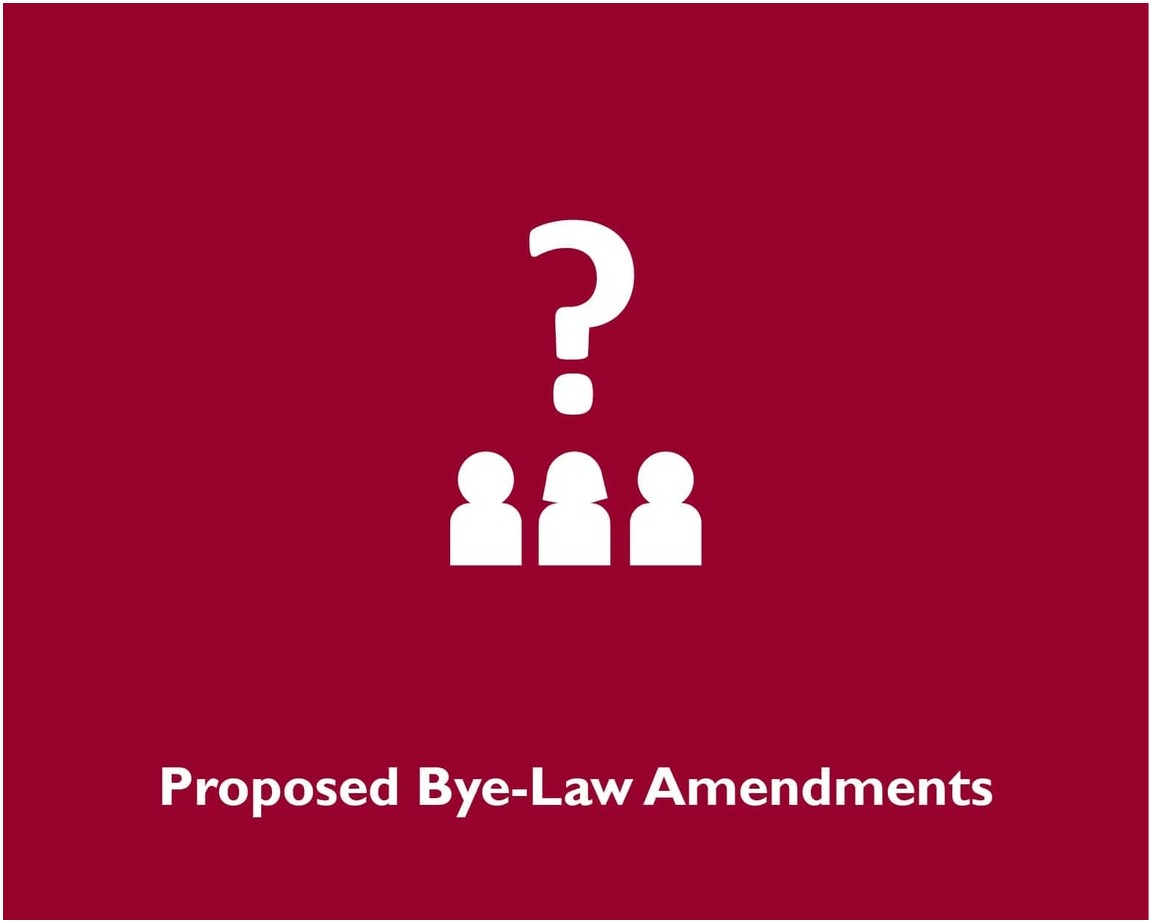 Proposed Bye-Law Amendments