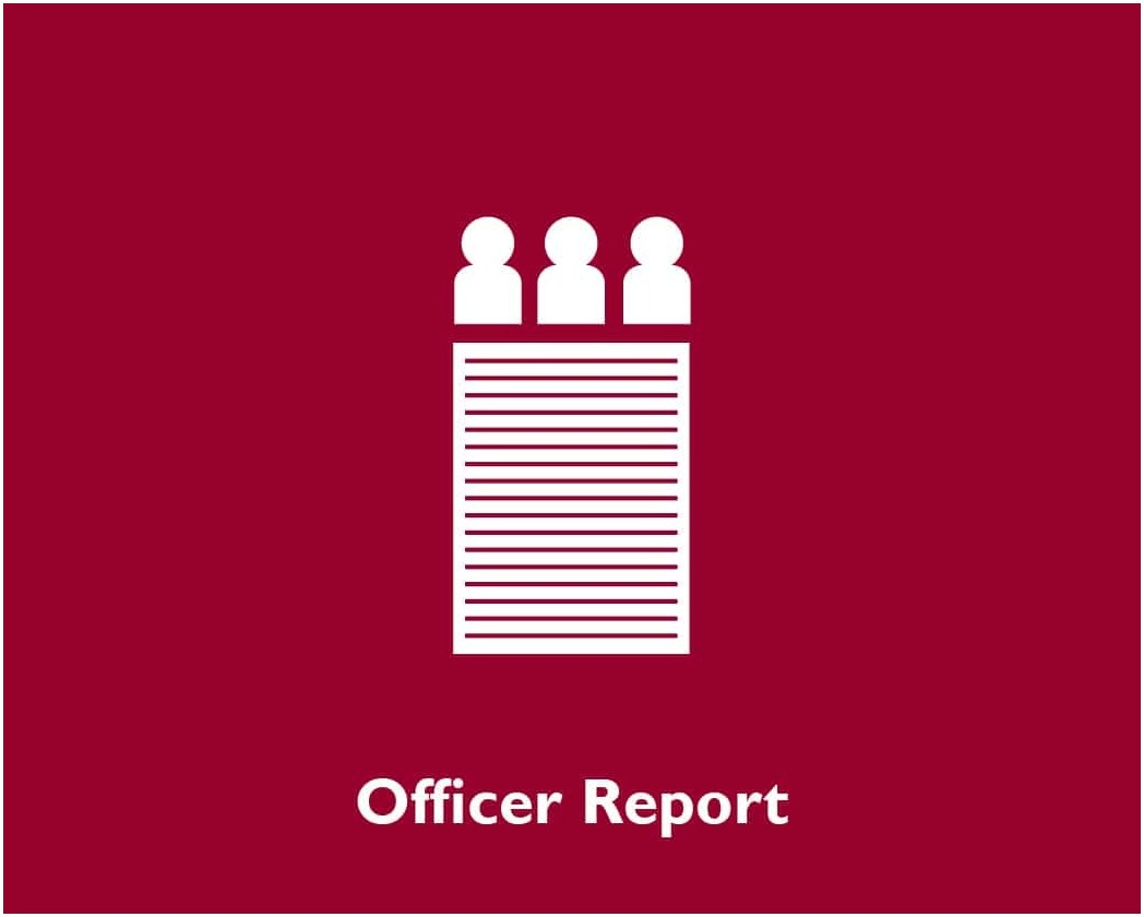 Officer Report